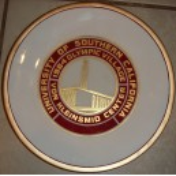 1984 Olympic village VKC plate