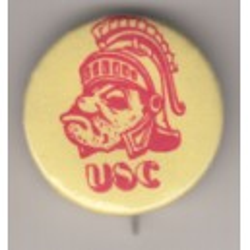 Vintage Tommy Trojan pin.