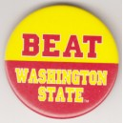 Beat Washington State pin