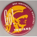 Go Trojans with Tommy Trojan.  University Hospital.