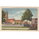 Postcard Mudd Hall of Philosophy USC color white border