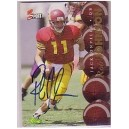 Rob Johnson autographed trading cards