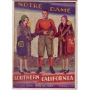 1929 USC vs. Notre Dame Program