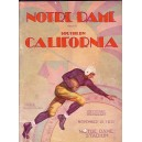 1931 USC vs. Notre Dame program.