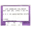 1993 USC vs. Washington State ticket stub.