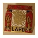 Los Angeles Police Department USC Olympic village pin