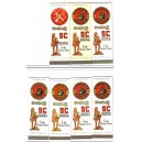 1953-1967 USC football schedule matchbooks.