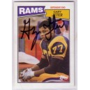 Gary Jeter - Autographed trading card.