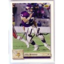 Joey Browner - Autographed trading card.