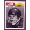 1988 USC All Americans Winners trading card set
