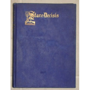 1918 Stare Decisis USC law school yearbook.