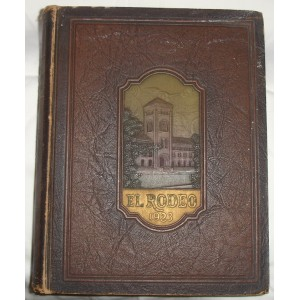 1923 El Rodeo USC yearbook.