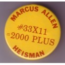 Marcus Allen Heisman themed pin