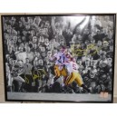 Reggie Bush and Matt Leinart signed Bush Push picture.