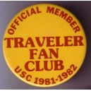 Traveler fan club- official member pin