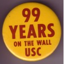 99 years on the wall pin