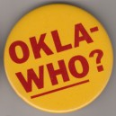 Okla-Who? USC pin