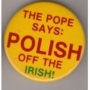 Polish off the Irish pin