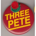 Three Pete pin