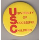 University of Successful Children pin