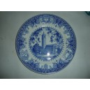 Mudd Hall of Philosophy 1933 Wedgwood USC plate