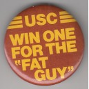 Win one for the Fat Guy pin