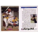 Rodney Peete autographed trading card 3