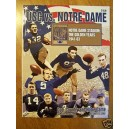 2005 USC vs. ND program with ticket.