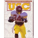 1990 USC vs. Notre Dame game program.