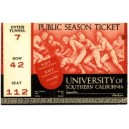 USC ticket stub.