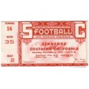 1949 USC vs. Stanford ticket stub .