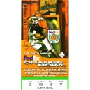 2003 Orange Bowl Ticket stub USC vs. Iowa