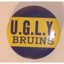 UGLY Bruins pin