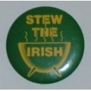 Stew the Irish pin