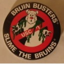 Slime the Bruins pin