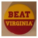 Beat Virginia pin