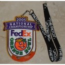 2005 National Championship Orange Bowl patch.