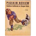 1938 USC vs. Oregon State University Pigskin Review
