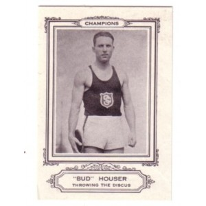 1926 Sports Co. of America - Bud Houser