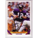Sean Salisbury - Autographed trading card.