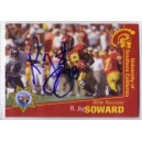 R. Jay Soward autographed trading card