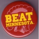 Beat Minnesota pin